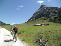 Blick zum Geiselstein (Allgäuer Matterhorn)